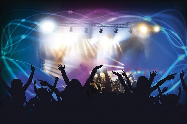 ライブ会場の様子